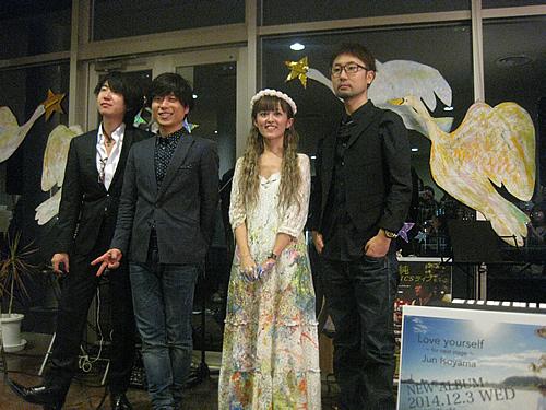 11月3日磯山純ピアノとチェロと僕&伊敷トゥートライブペインティング コラボライブ
